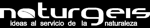 Logo Naturgeis white